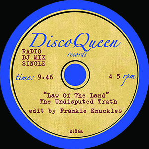 DISCO QUEEN #2186 - FRANKIE KNUCKLES EDITS