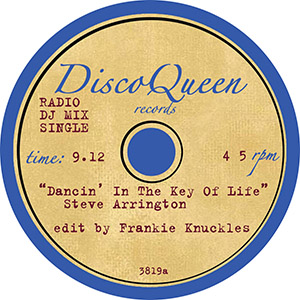 DISCO QUEEN #3819 - FRANKIE KNUCKLES EDITS