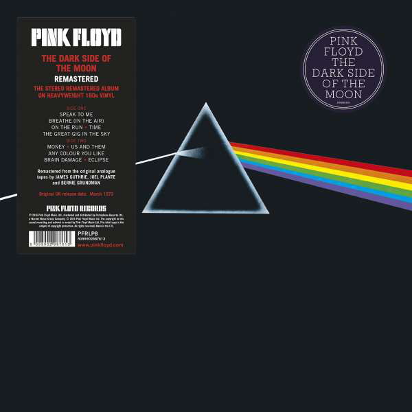 THE DARK SIDE OF THE MOON(LP)