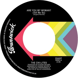 ARE YOU MY WOMAN (TELL ME SO) / STONED OUT OF MY MIND (7 inch)