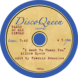 DISCO QUEEN #7981 - FRANKIE KNUCKLES EDITS