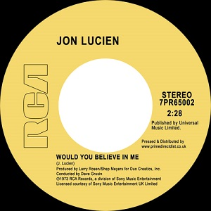 WOULD YOU BELIEVE IN ME / KUENDA (7 inch)