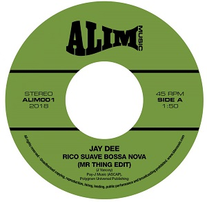 RICO SUAVE BOSSA NOVA / COME GET IT (7 inch)