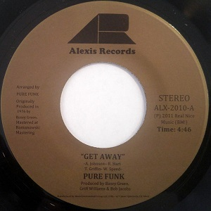 GET AWAY / NOTHING LEFT IS REAL (7 inch)