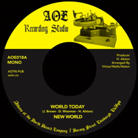 THE WORLD TO-DAY (7 inch)
