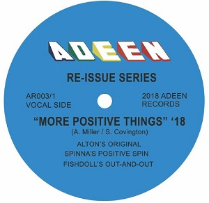 MORE POSITIVE THINGS '18 (DJ SPINNA / FISHDOLL MIXES)