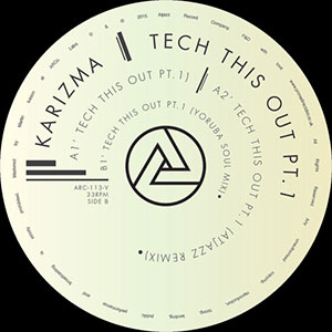 TECH THIS OUT PT.1 (ATJAZZ / OSUNLADE REMIXES)-RSD LIMITED-