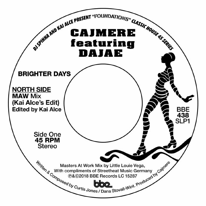 BRIGHTER DAYS(feat.DAJAE) (7 inch)