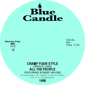 CRAMP YOURSTYLE / WATCHA GONNA DO ABOUT IT (7 inch)