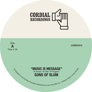 MUSIC IS MESSAGE (7 inch)