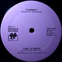 TIME TO MOVE [REISSUE] -pre-order-