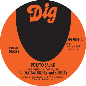 POTATO SALAD / THERE MUST BE SOMETHING (7 inch)