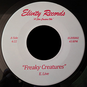 FREAKY CREATURES (7 inch)