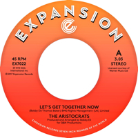 LET'S GET TOGETHER NOW (7 inch) -pre-order-