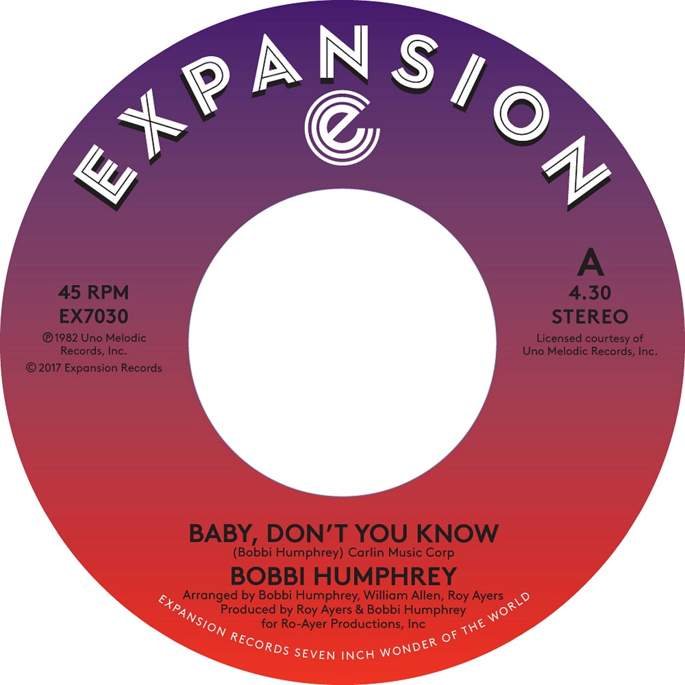 BABY DON'T YOU KNOW (7 inch)