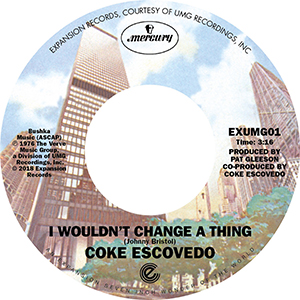 I WOULDN'T CHANGE A THING (7 inch)