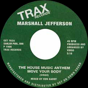 THE HOUSE MUSIC ANTHEM (7 inch)