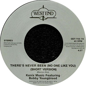 THERE'S NEVER BEEN (NO ONE LIKE YOU) (7 inch)