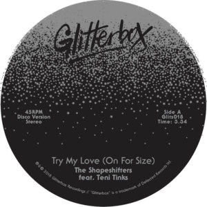 TRY MY LOVE (ON FOR SIZE) / WHEN LOVE BREAKS DOWN (7 inch)
