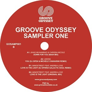 GROOVE ODYSSEY - SAMPLER ONE