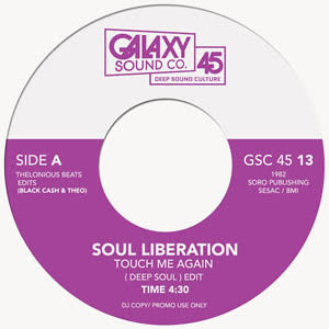 TOUCH ME AGAIN (DEEP SOUL) / L.A. NIGHTS (KADENA INST)(7 inch)