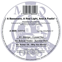 A BASEMENT,A RED LIGHT,AND A FEELIN (LP) [REISSUE]