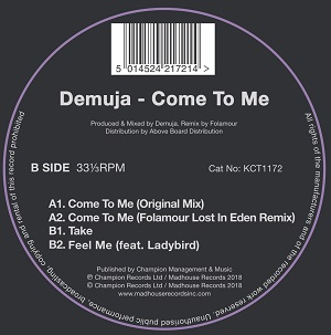 COME TO ME (inc.FOLAMOUR REMIX) -pre-order-