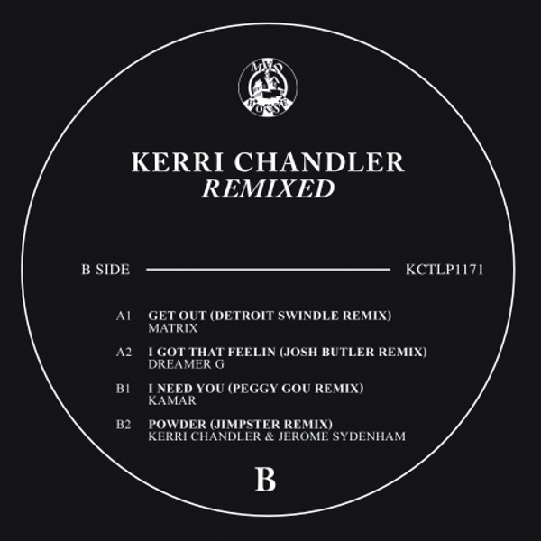KERRI CHANDELER REMIXED (PEGGY GOU / DETROIT SWINDLE etc)-pre-or
