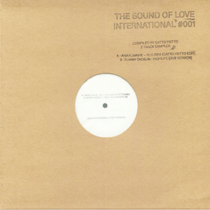 THE SOUND OF LOVE INTERNATIONAL 001 - SAMPLER