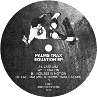 EQUATION EP (Incl. WILLIE BURNS REMIX)