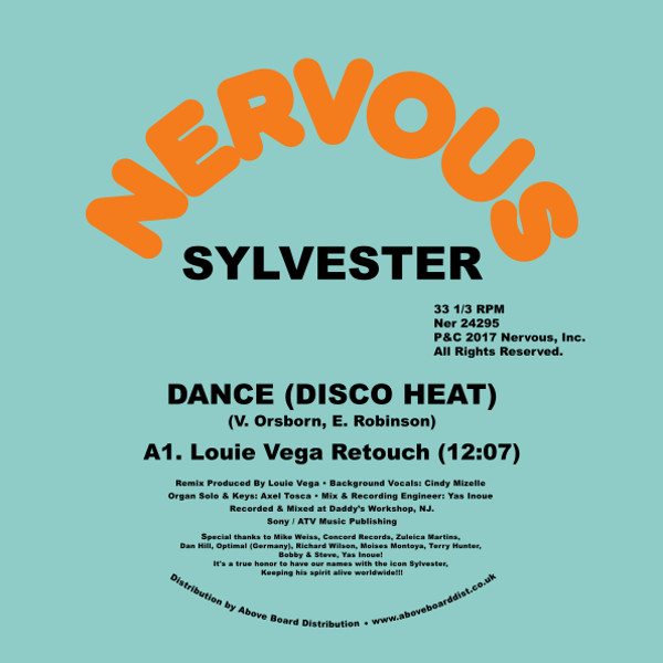 DANCE (DISCO HEAT) - LOUIE VEGA REMIXES