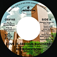 LOVE IS SERIOUS BUSINESS (7 inch) -pre-order-