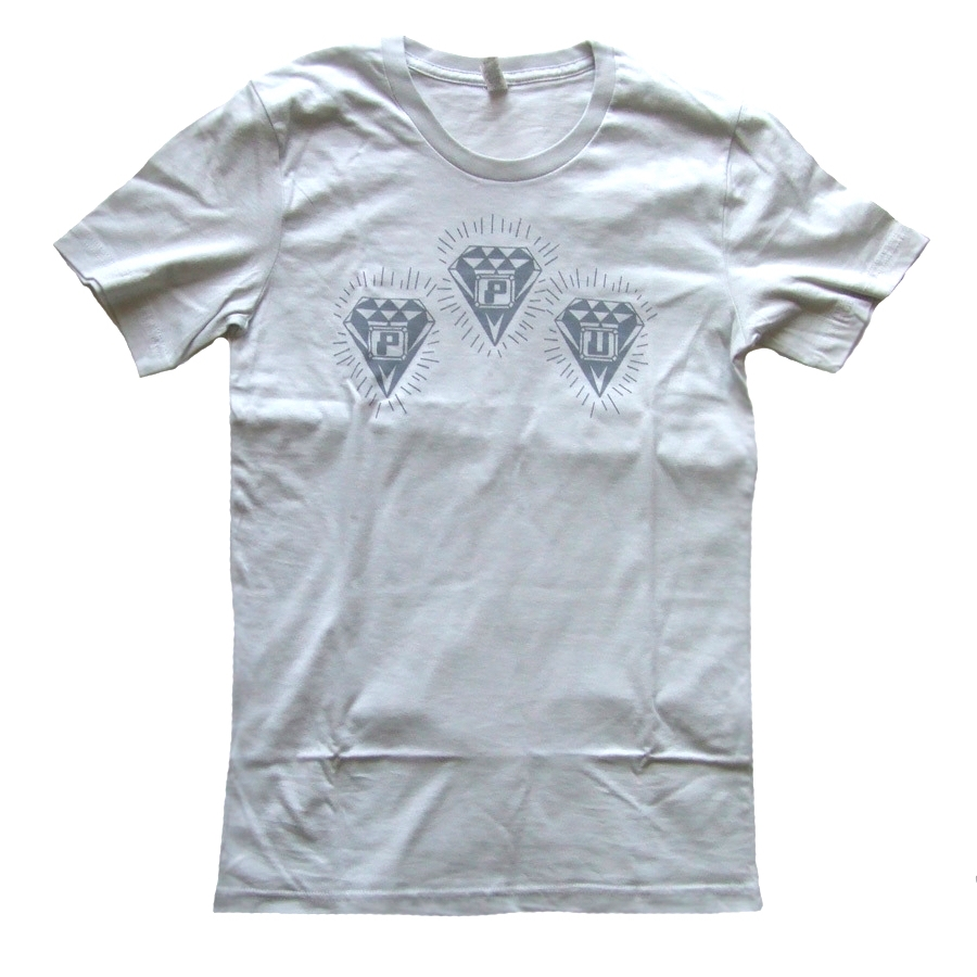 c5ae901c84 PPU DIAMOND LOGO T-SHIRTS(LIGHT GREY:M) [PPUT-LGREY] - VA - PEOPLES ...