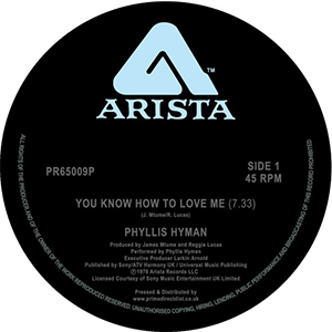 YOU KNOW HOW TO LOVE ME (LONG VERSION) / LIVING INSIDE YOUR LOVE