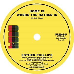 HOME IS WHERE THE HATRED IS / I'VE NEVER FOUND A MAN (7 inch)