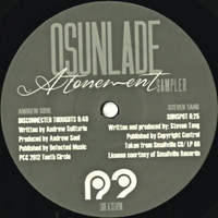 "ATONEMENT(12"" SAMPLER)"
