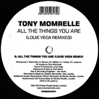 ALL THE THINGS YOU ARE (LOUIE VEGA REMIXES) (10 inch)