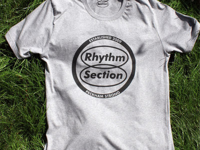 7bc70f4dfee0 RHYTHM SECTION LOGO T-SHIRT (GREY) - L size [RS-LOGO-GREY-L] - VA ...