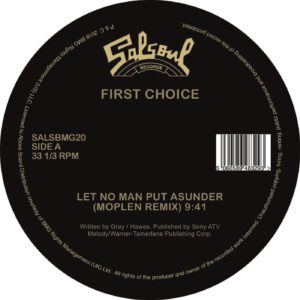 JINGO / LET NO MAN PUT ASUNDER (MOPLEN REMIXES) -pre-order-