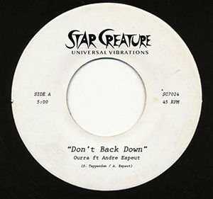DON'T BACK DOWN (feat.ANDRE ESPEUT) (7 inch)
