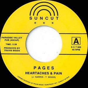 HEARTACHES & PAIN / MACK (7 inch)