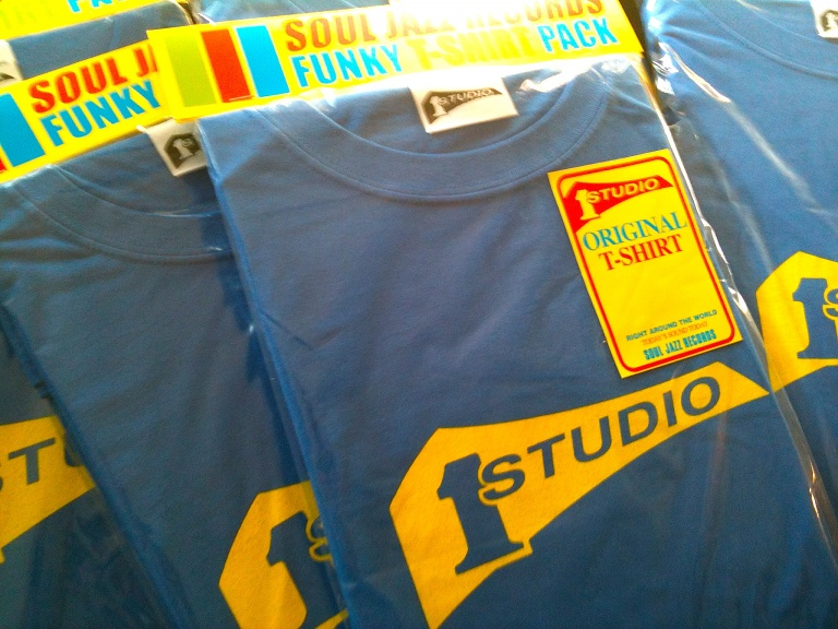 STUDIO 1 T-SHIRTS (BLUE : M size)