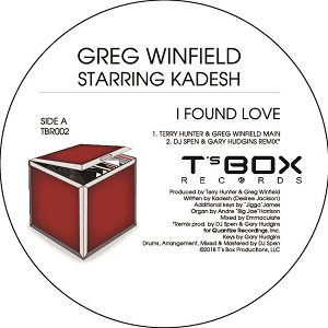 I FOUND LOVE -TERRY HUNTER / DJ SPEN / MIKE DUNN REMIXES-pre-ord