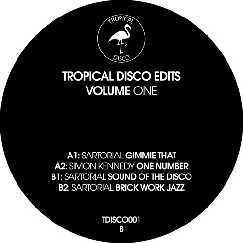 TROPICAL DISCO EDITS VOL. 1