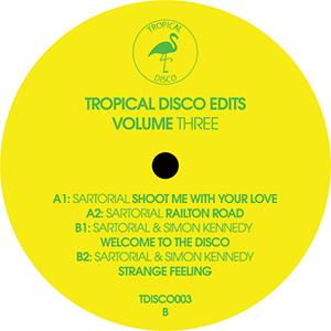 TROPICAL DISCO EDITS VOL.3