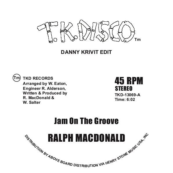 JAM ON THE GROOVE/GET OFF YOUR AAAHH & DANCE(D.K EDIT)