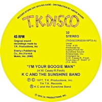 I'M YOUR BOOGIE MAN (TODD TERJE EDIT) (10 inch)-RSD-