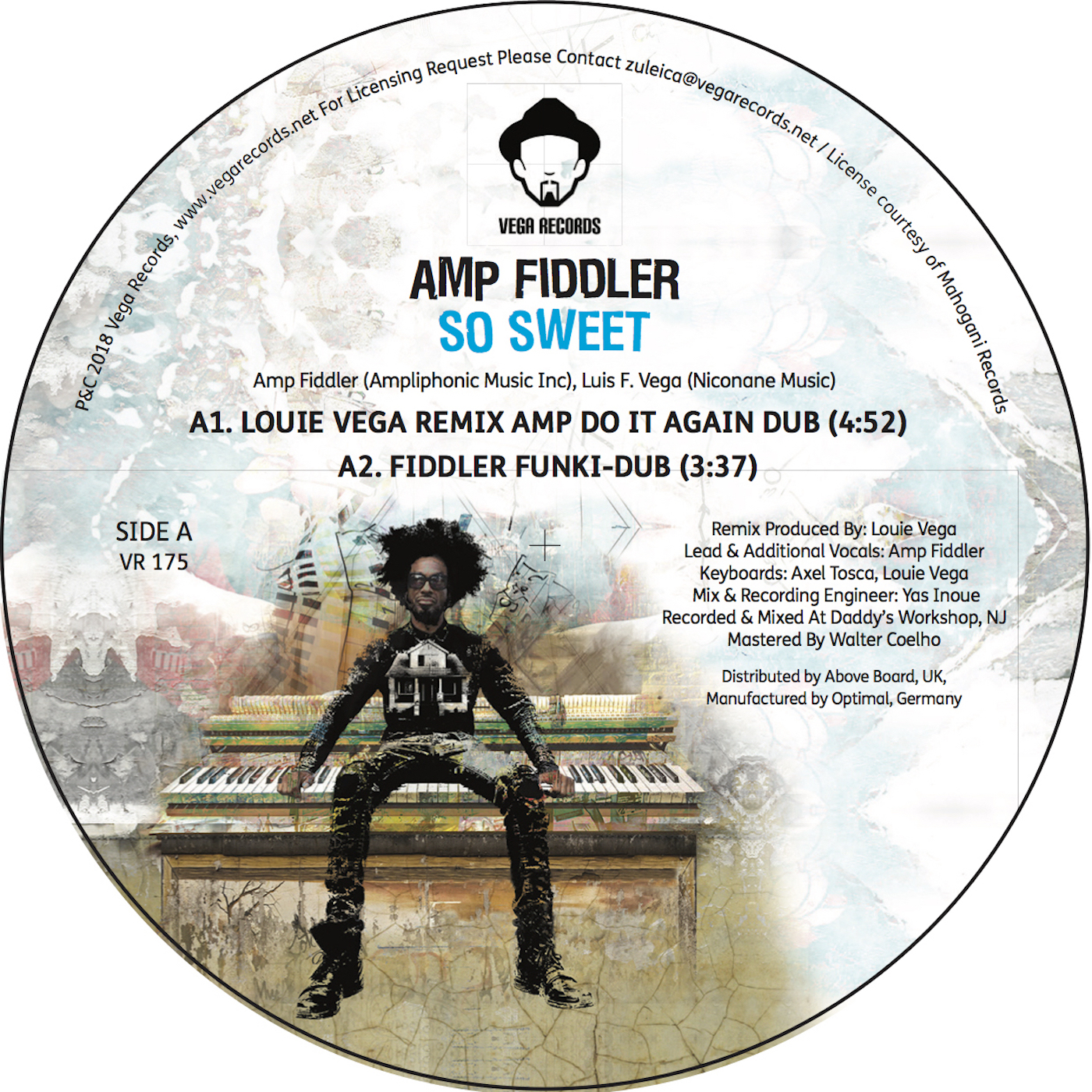 SO SWEET - LOUIE VEGA REMIXES -pre-order-