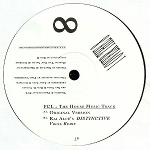 THE HOUSE MUSIC TRACK (10 inch)