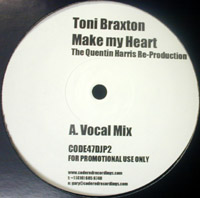 MAKE MY HEART(THE QUENTIN HARRIS RE-PRODUCTION)-PROMO